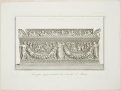 Sarcofago rappresentante la Favola d'Atteone by Giovanni Battista Leonetti-1821