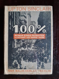 100% - Rare Book by George Grosz - 1921