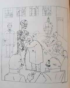 Das Gesicht der Herrschenden Klasse - Rare Book Illustrated by G. Grosz - 1920