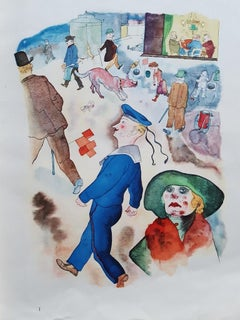 Ecce Homo - Rare Book Illustrated by George Grosz - 1923