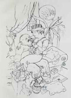 Tartarin - Rare Book Illustrated by George Grosz - 1921