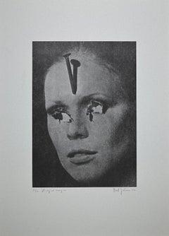 The Magic Sign - Original Lithograph by Giuliano Sturli - 1976