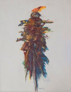 The Scarecrow - Original Oil Painting by Franco Mulas - 2012
