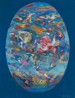 Pala n°1 - Original Oil Painting by Franco Mulas - 2001
