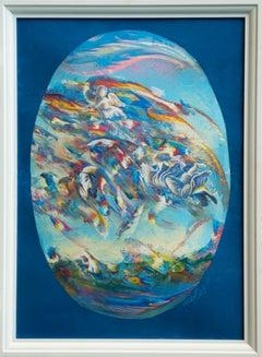 Pala n°4 - Original Oil Painting by Franco Mulas - 2021