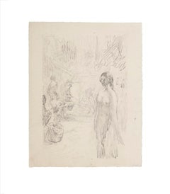 L'Ancien - Original Lithograph by Ferdinand Piloty - 1806
