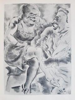 Über alles die Liebe - Rare Book illustrated by George Grosz - 1930