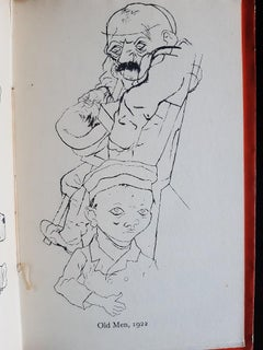 A Post-war Museum - Rare Book illustrated by George Grosz - 1931