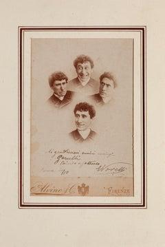 Grande Comico - Original Photograph By Ermete Novelli - Late 19th Century