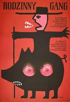 Vintage Poster by Jerzy Flisak - 1974