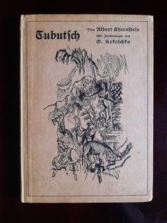 Tubutsch - Rare Book Illustrated by Oskar Kokoschka - 1911