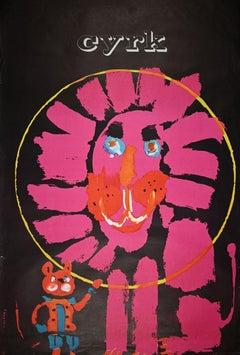 Circus - Original Poster by Waldemar Swierry - 1970s