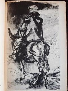 Dieci disegni e uno scritto sui contadini di Sicilia by Renato Guttuso - 1951