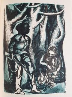 Sangue Reale - Rare Book Illustrated by Renato Guttuso - 1951