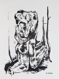 Erotische Votiftafeln - Rare Book Illustrated by Heinrich Lautensack - 1919