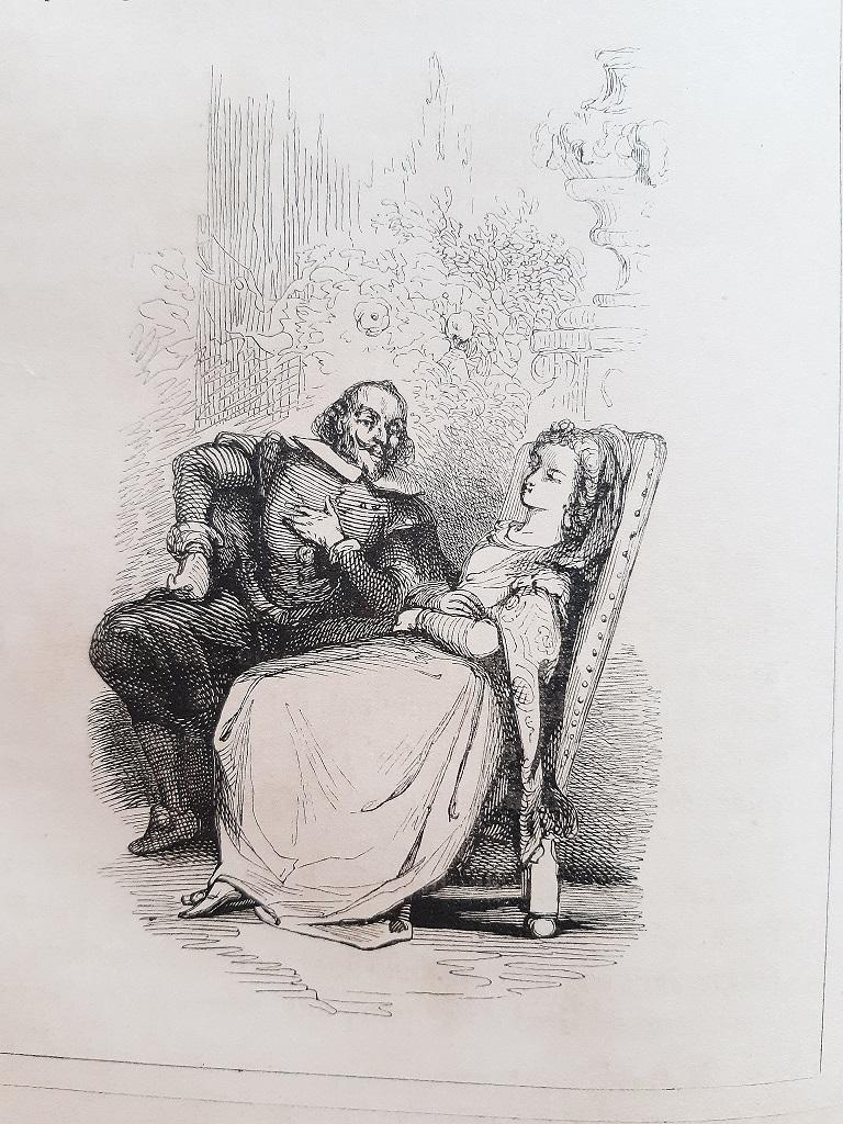 Le Diable Boiteux - Rare Book Illustrated by Tony Johannot - 1840 For Sale 4