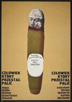 Tage Danielsson - Vintage Poster by Marcin Jan Mroszczak - 1974