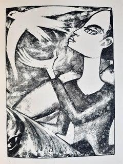 Die sage von Sankt Julian dem Gastfreien - Rare book engraved by Max Kaus - 1919
