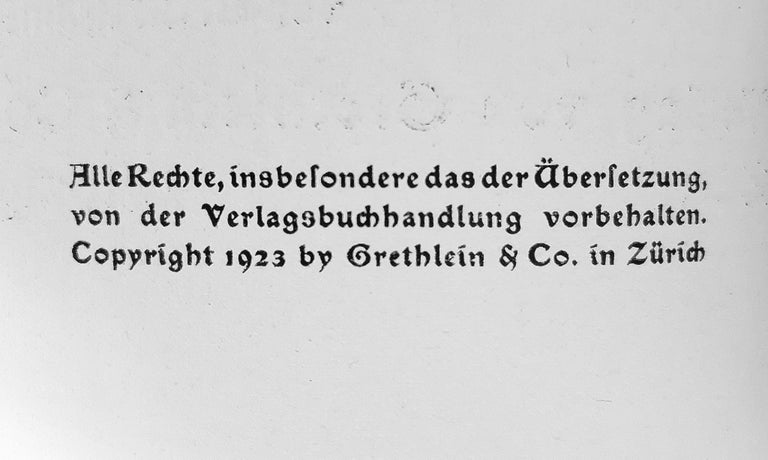 Neben der Heerstrasse - Rare book Illustrated by Ernst Ludwig Kirchner - 1923 2