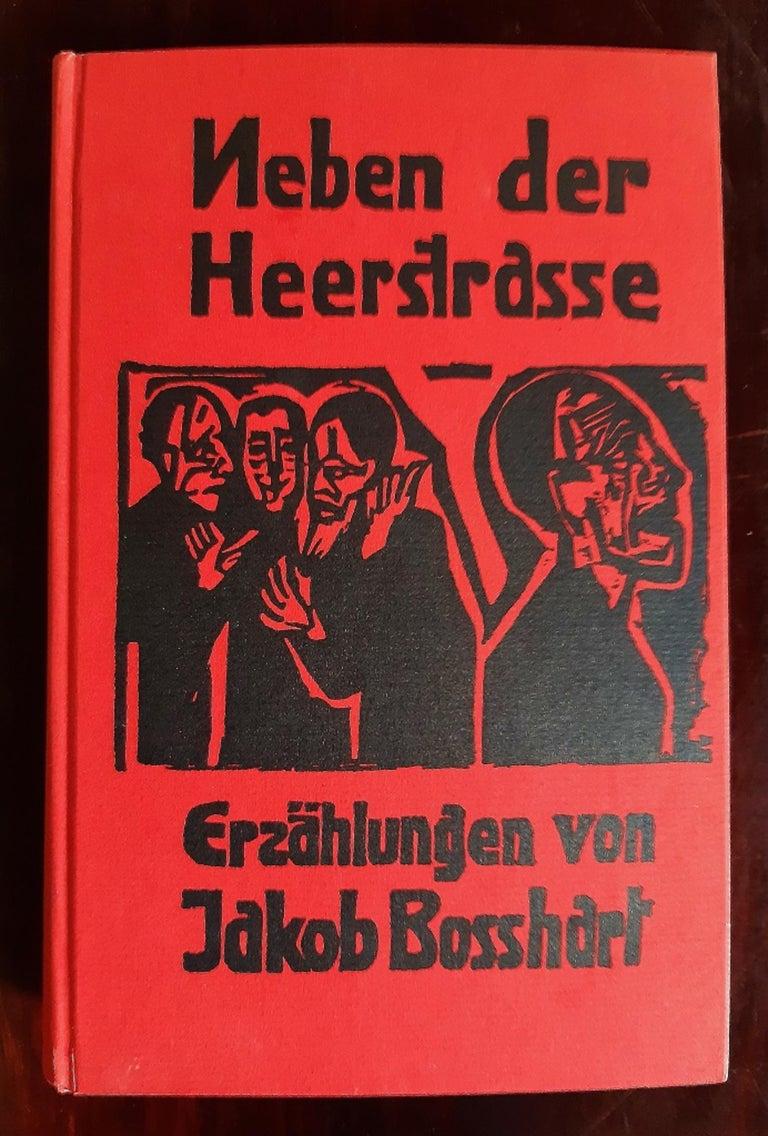 Neben der Heerstrasse - Rare book Illustrated by Ernst Ludwig Kirchner - 1923 3