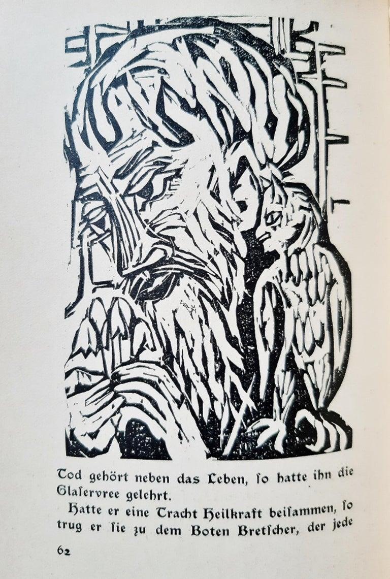 Neben der Heerstrasse - Rare book Illustrated by Ernst Ludwig Kirchner - 1923 1
