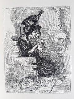Das Schwartzende Herz - Rare Book Illustrated by A. Kubin- 1909