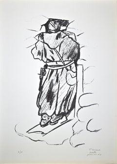 Scout - Original Lithograph by Pietro Morando - 1950s
