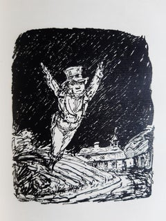 Herr von Pepinster und sein Popanz - Rare Book Illustrated by A. Kubin - 1918