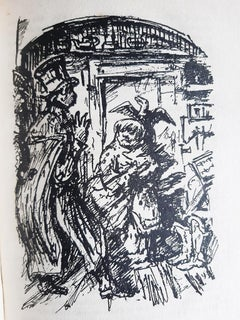Die Majoratsherren - Rare Book Illustrated by Alfred Kubin - 1922