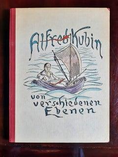 Von Verschiedenen Ebenen - Rare Book  Illustrated by Alfred Kubin - 1922