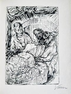 Der Greise Freier - Rare Book Illustrated by Alfred Kubin - 1924