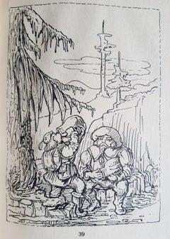 Rübezahl - Rare Book Illustrated by Alfred Kubin - 1927