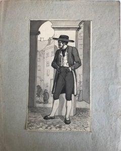 Character - Original Drawing - 19th Century
