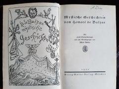 Mystische Geschichten - Rare Book Illustrated by Alfred Kubin - 1920