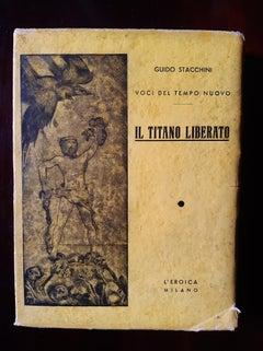 Il Titano Liberato - Rare Book Illustrated by Alberto Martini - 1936