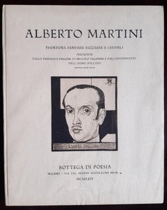 Trentuna fantasie - Rare Book Illustrated by Alberto Martini - 1924