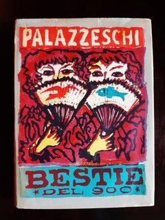 Bestie del '900 - Rare Book Illustrated by Mino Maccari - 1951