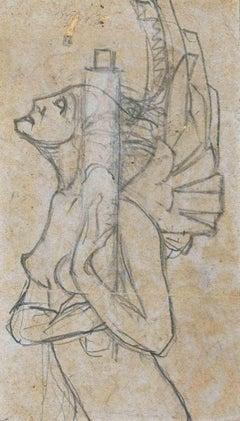 Dancer - Original Pencil Drawing - 1920