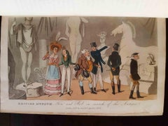 Real Life in London - Original Rare Book Illustrated by T. Rowlandson - 1820s