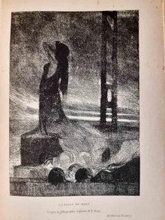 Revue La Plume n° 172 - Original Rare Book Illustrated by Félicien Rops - 1896