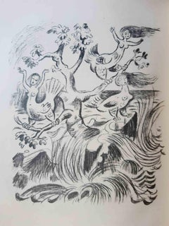 Die Argonauten - Original Rare Book Illustrated by Richard Seewald - 1923