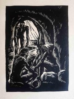 Die Neue Stadt - Original Rare Book Illustrated by Otto Rudolph Schatz - 1926