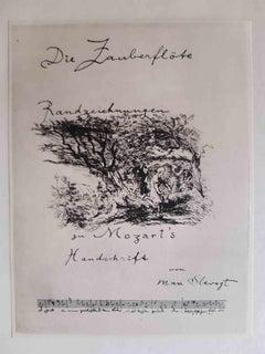 Die Zauberflote - Original Rare Book Illustrated by Max Slevogt - 1924