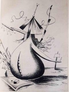 Métiers des Hommes - Original Rare Book Illustrated by Kurt Seligmann - 1936