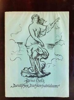 Deutsches Dichterjubilaum - Rare Book Illustrated by Hans Steiner - 1923