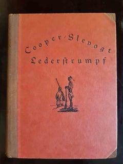 Lederstrumpf - Original Rare Book Illustrated by Max Slevogt - 1928