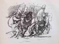 Die Tapferen Zehntausend - Original Rare Book Illustrated by Max Slevogt - 1921