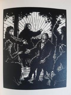 Candid Oder der Optimismu - Original Rare Book Illustrated by Max Unold - 1913