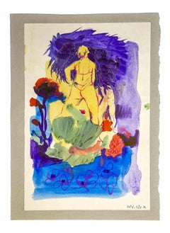 Composition - Original Drawing by Leo Guida - 1970s
