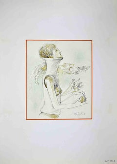 Strange Abilities - Original Drawing by Leo Guida - 1972